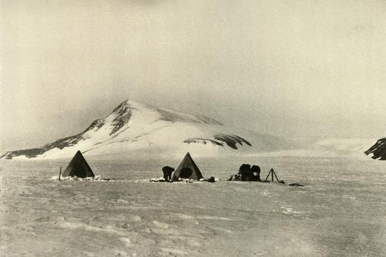 'The Camp Below The Cloudmaker.', c1908, (1909)-Unknown-Photographic Print