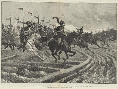 The Camp of Exercise at Delhi-Richard Caton Woodville II-Giclee Print