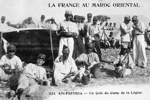 The Camp of the Foreign Legion, Ain Fritissa, Morocco, 20th Century