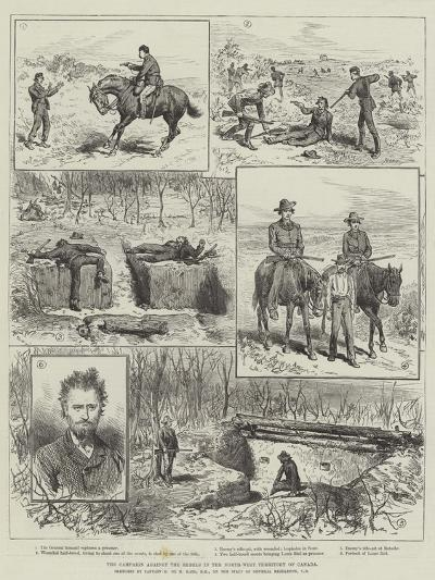 The Campaign Against the Rebels in the North-West Territory of Canada--Giclee Print