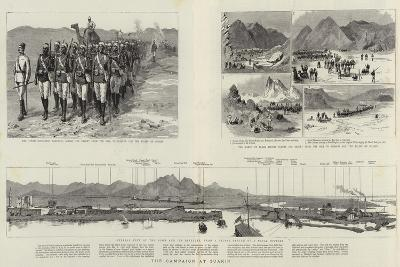 The Campaign at Suakin--Giclee Print