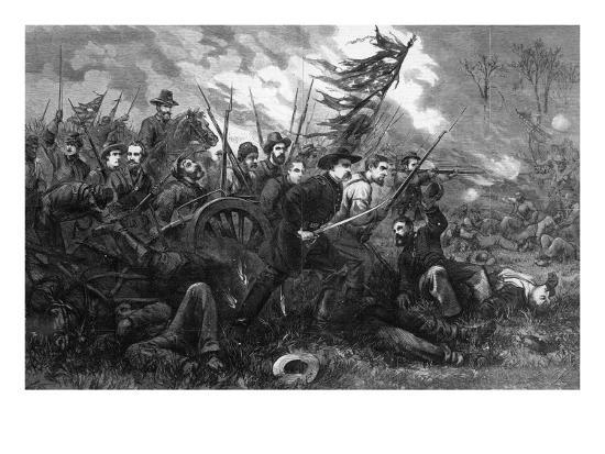 The Campaign in Virginia - 'On to Richmond', from 'Harper's Weekly', 1864-Thomas Nast-Giclee Print