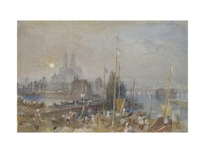 The Canal of the Loire and Cher-J^ M^ W^ Turner-Giclee Print