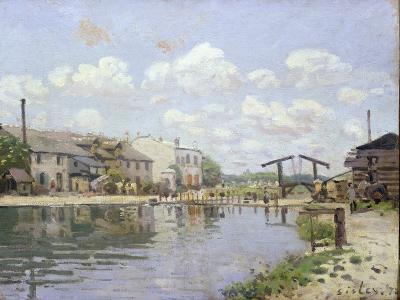 The Canal Saint-Martin, Paris, 1872-Alfred Sisley-Giclee Print