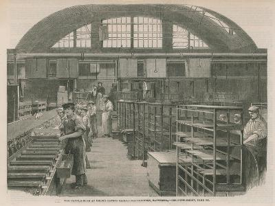 The Candle Room at Price's Patent Candle Manufactury, Battersea--Giclee Print