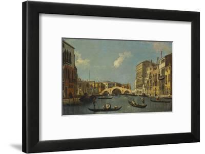 The Cannaregio, Venice-Canaletto-Framed Giclee Print