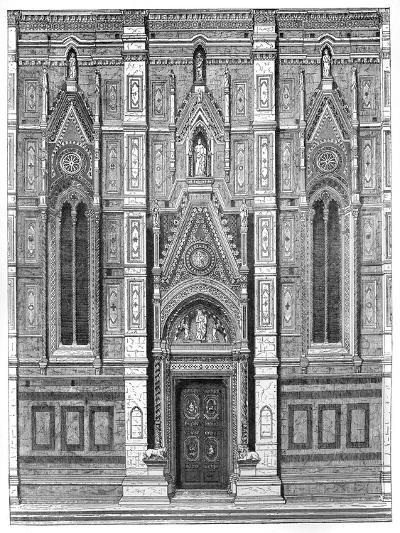 The Canonical Gate of the Basilica of Santa Maria Del Fiore, Florence, Italy, 1882--Giclee Print