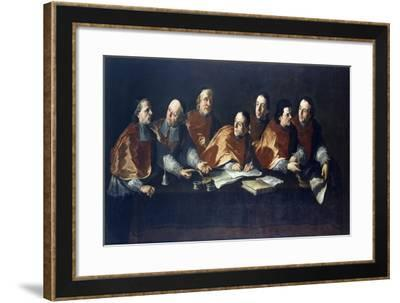 The Canons of Lu, Fresco-Pier Francesco Guala-Framed Giclee Print