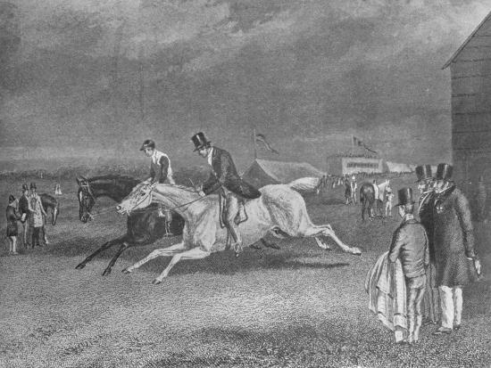 'The Canter Up', 19th century, (1911)-Unknown-Giclee Print