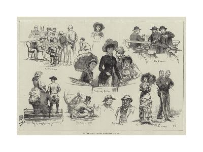 The Canterbury Cricket Week-Frank Dadd-Giclee Print