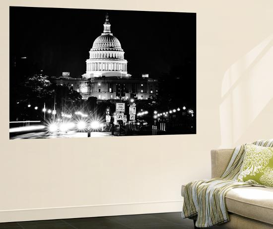 The Capitol Building, US Congress, Washington D.C, District of Columbia-Philippe Hugonnard-Wall Mural