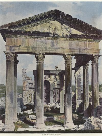 The Capitol in Dougga--Photographic Print