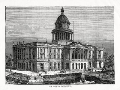 The Capitol, Sacramento, California, USA, 1877--Giclee Print