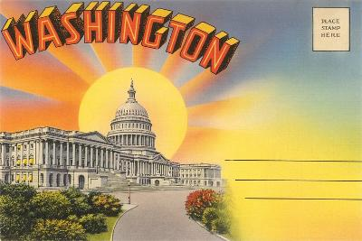 The Capitol Washington, DC--Art Print