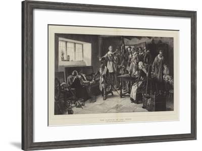 The Captain of the Troop-Frank Dadd-Framed Giclee Print