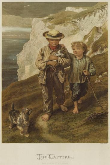 The Captive-George Housman Thomas-Giclee Print