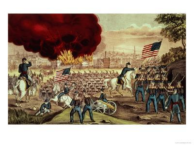The Capture of Atlanta by the Union Army, 2nd September, 1864-Currier & Ives-Giclee Print