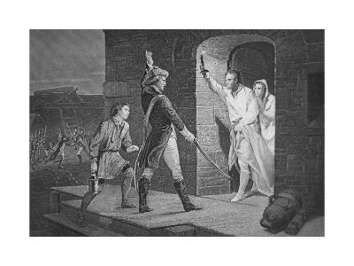 The Capture of Fort Ticonderoga, 10 May 1775--Giclee Print