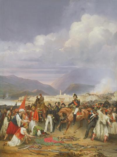 The Capture of Morea Castle, 30th October 1828, 1836-Jean Charles Langlois-Giclee Print