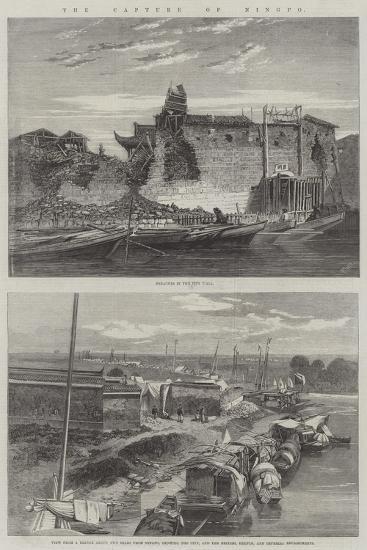 The Capture of Ningpo-Richard Principal Leitch-Giclee Print