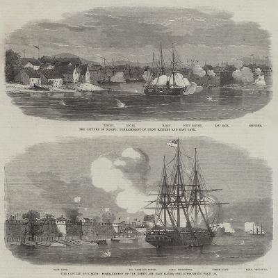 The Capture of Ningpo--Giclee Print