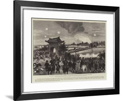 The Capture of Ping-Yang--Framed Giclee Print