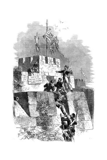 The Capture of Ting-Hae, China, 1841--Giclee Print