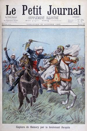 The Capture of Toure Samory by Lieutenant Jacquin Near Guelemou in 1898-Henri Meyer-Framed Giclee Print