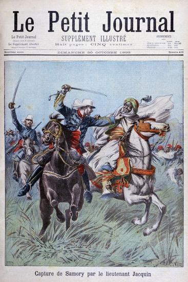 The Capture of Toure Samory by Lieutenant Jacquin Near Guelemou in 1898-Henri Meyer-Giclee Print