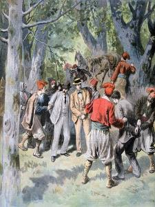 The Capture of Two French Travelers by Brigands in Sardinia, 1894