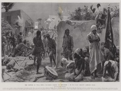 The Capture of Yola, Benue, Northern Nigeria, on 2 September, by the West African Frontier Force-Richard Caton Woodville II-Giclee Print