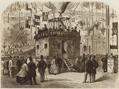 The Car of Nadar's Balloon, 1863--Giclee Print