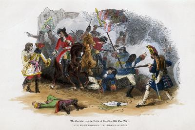 The Carabiniers at the Battle of Ramillies, 23rd May 1706--Giclee Print