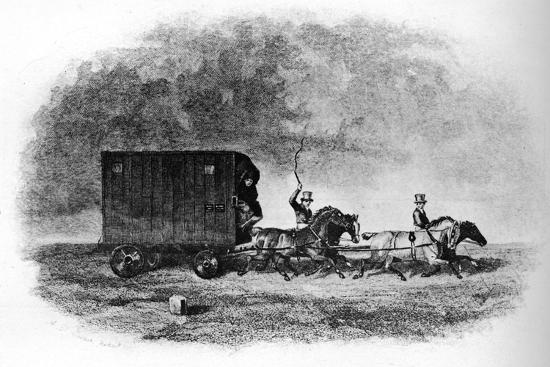 'The Caravan', 19th century, (1911)-Unknown-Giclee Print
