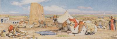 The Caravan - an Arab Encampment at Edfou, C.1861-John Frederick Lewis-Giclee Print