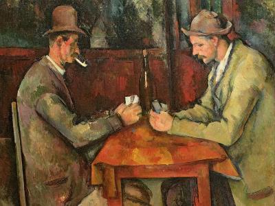 The Card Players, 1893-96-Paul C?zanne-Giclee Print