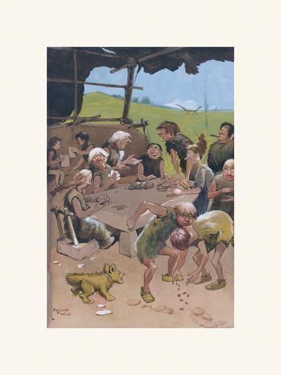 The Card Players-Lawson Wood-Premium Giclee Print