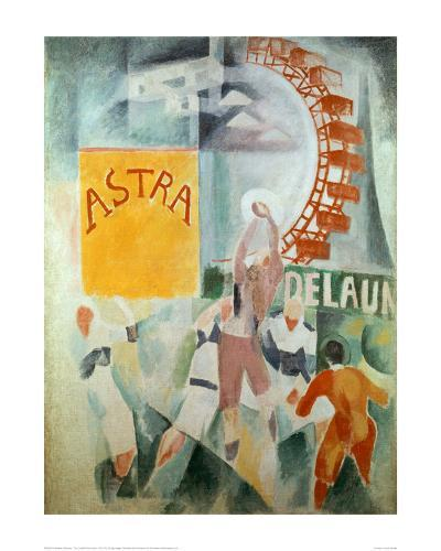 The Cardiff Team Astra, 1912/1913-Robert Delaunay-Giclee Print
