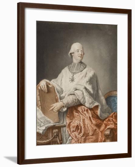 The Cardinal De Rohan, 1783-Philibert Louis Debucourt-Framed Giclee Print