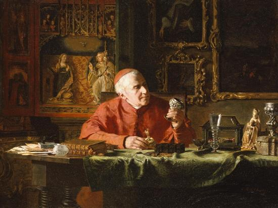 The Cardinal's Treasures-E.c. Eldridge-Giclee Print