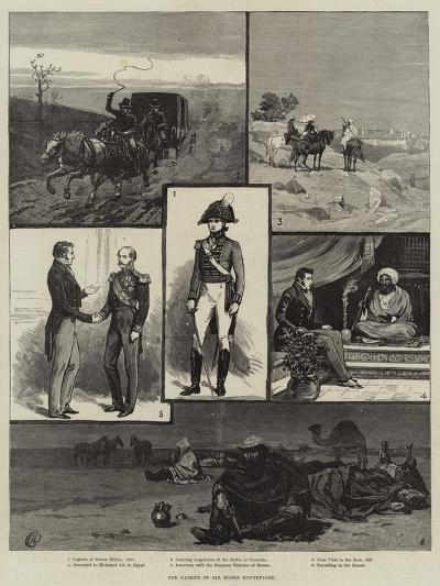 The Career of Sir Moses Montefiore-Frank Dadd-Giclee Print