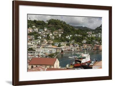 The Carenage (The Old Harbour)-Tony-Framed Photographic Print