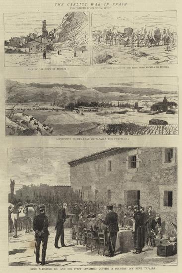 The Carlist War in Spain--Giclee Print