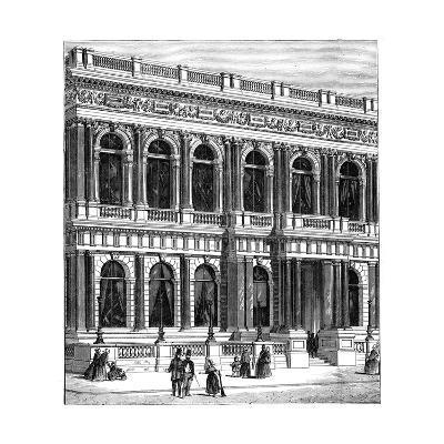 The Carlton Club, London, 1891--Giclee Print