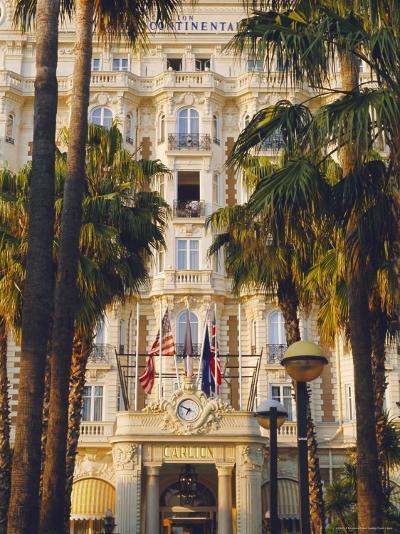 The Carlton Hotel on the Croisette, Cannes, Alpes Maritime, France-J P De Manne-Photographic Print