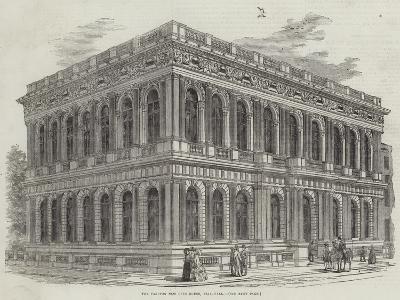 The Carlton New Club-House, Pall-Mall--Giclee Print