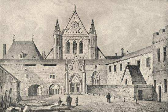 The Carmelite monastery on the Rue d'Enfer, Paris, 1915-Unknown-Giclee Print