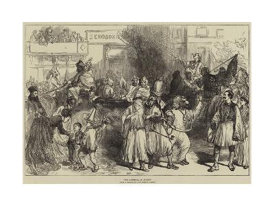 The Carnival at Athens--Giclee Print
