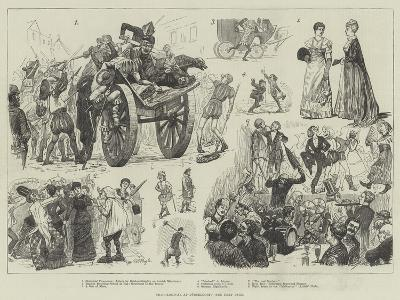 The Carnival at Dusseldorf-William Lockhart Bogle-Giclee Print
