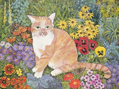 The Carpenter's Cat-Hilary Jones-Giclee Print